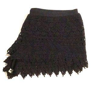 Women's Lace Mini Shorts